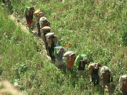 A scene from Miukeng - documentary film on effect of Jhum cultivation