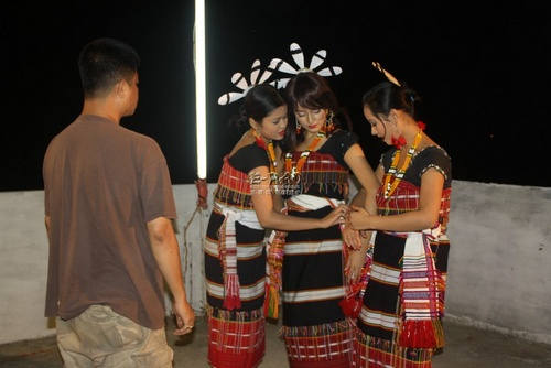 Behind the  scene from  Yaiskulgee Pakhang Angaoba
