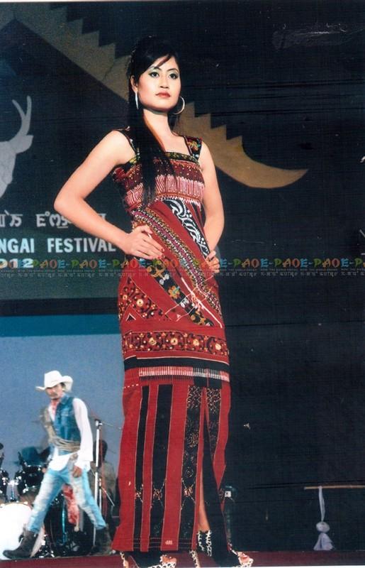 A Dress Designed by Kshetrimayum Ingocha Singh :