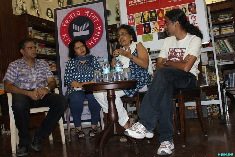 Book launch of 'Iron Irom, Two Journeys' by Minnie Vaid at Kitab Khana, Mumbai :: 08 March 2013