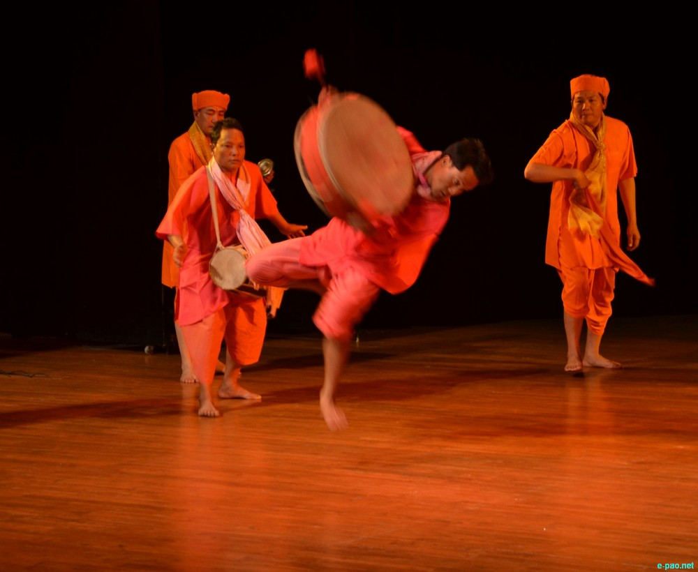 Dhol Chollom   :  Festival of Manipuri Dance and Music held for the first time in Chandigarh :: 16-17th February, 2013