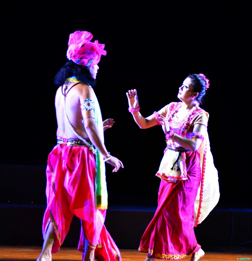 Bidai Abhishap (Dance Drama)  :  Festival of Manipuri Dance and Music in Chandigarh :: 16-17th February, 2013