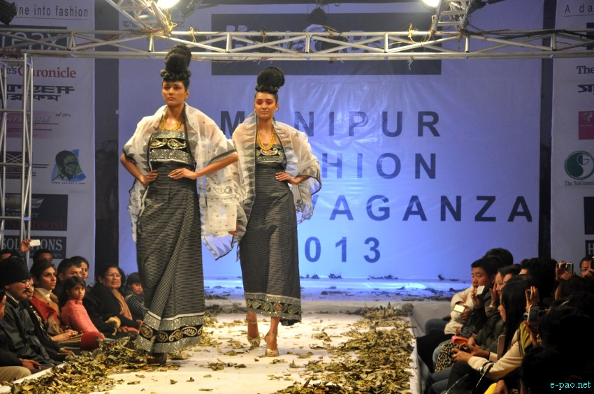 Manipur Fashion Extravaganza 2013 : By Stylist Robert Naorem :: January 06 2013