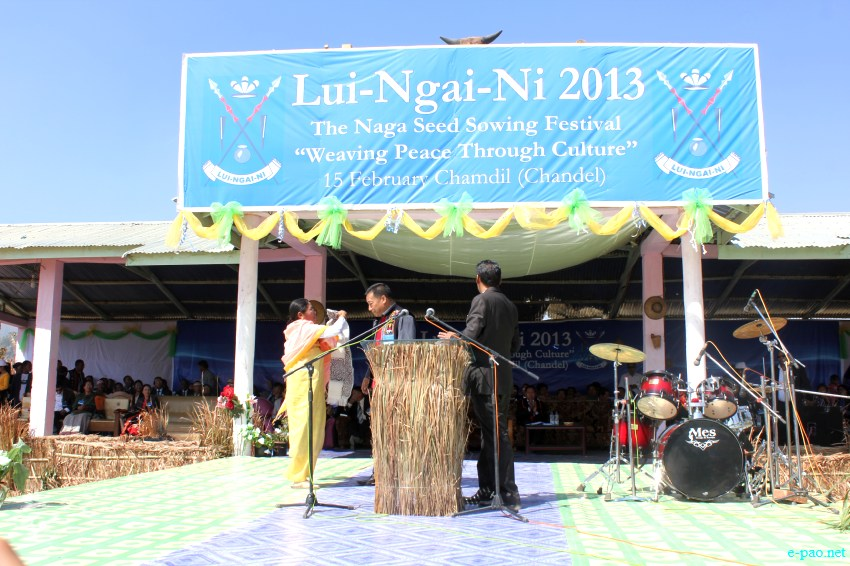 Lui-ngai-ni, Naga seed sowing festival at Chandel :: February 15 2013