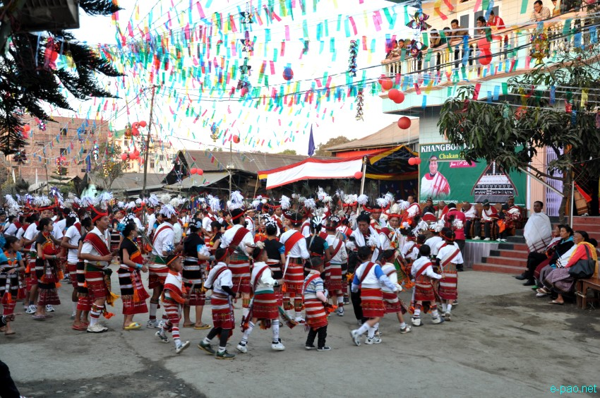 Gaan Ngai (biggest festival of Zeliangrong) celebration at Ragailong, Near Minuthong, Imphal :: January 27, 2012