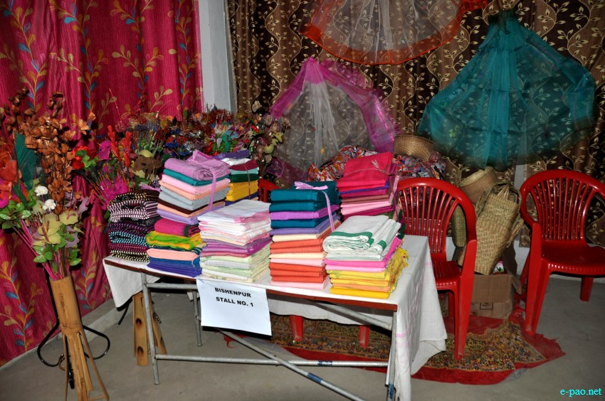 Handicrafts at State Level Youth festival (Convention, Cultural Festival & Yuva Kriti) at Lamyanba Sanglen, Imphal :: 18 - 20 February 2013
