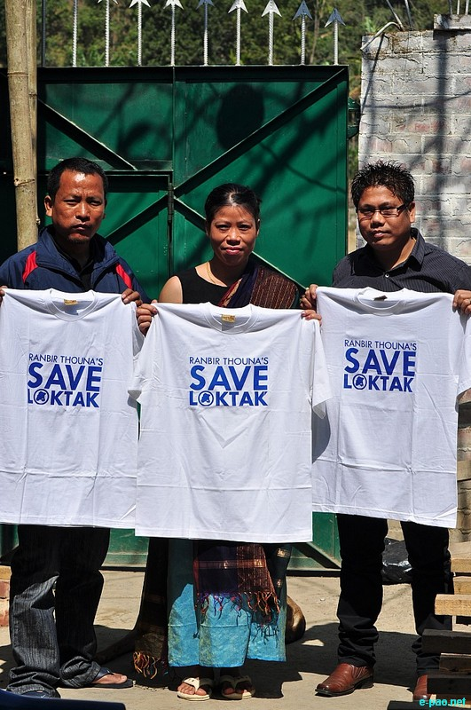 'Save Loktak, our Life' Music Campaign : The Final Leg Press Conference at Imphal :: 20 February 2013