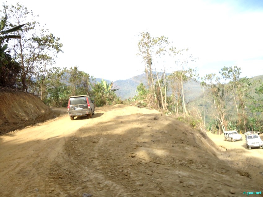 A view of Tamei and Tousem Sub Division in Tamenglong District :: February 2013