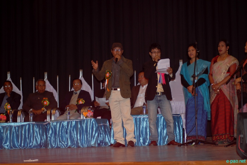 Award Distribution at foundation day of Film Academy Manipur (FAM) at MFDC hall, Imphal : 16 Feb 2013
