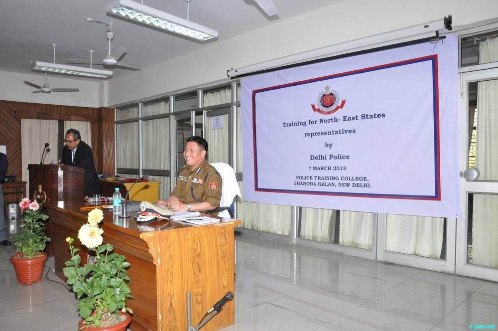 Training on security for N.E. citizens by Delhi Police
