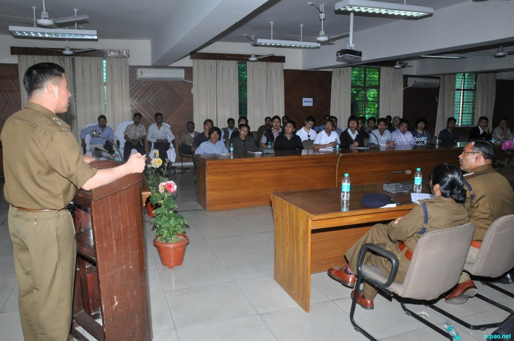 Training on security for North East citizens by Delhi Police :: 07 March 2013