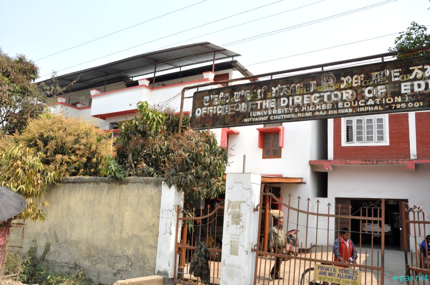 Director of Education (University and Higher Education) Building in Imphal :: March 2013