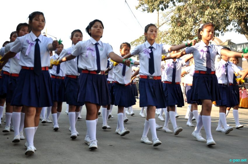 64th Indian Republic Day celebration at Imphal, Manipur  :: 26 January 2013