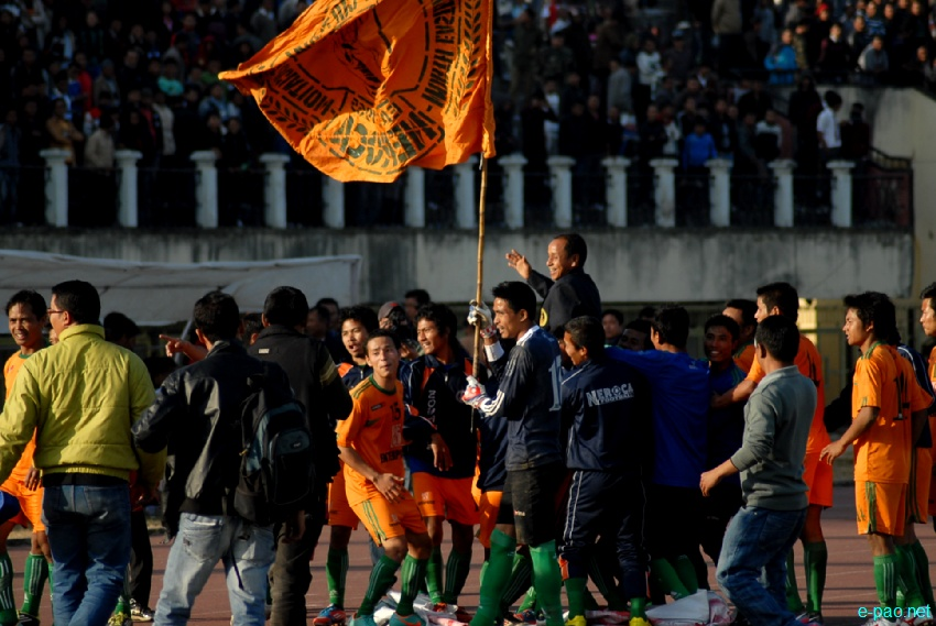 Final : NEROCA, Sangakpham Vs ARC, Shillong at 56th CC Meet Football :: 18 January, 2013