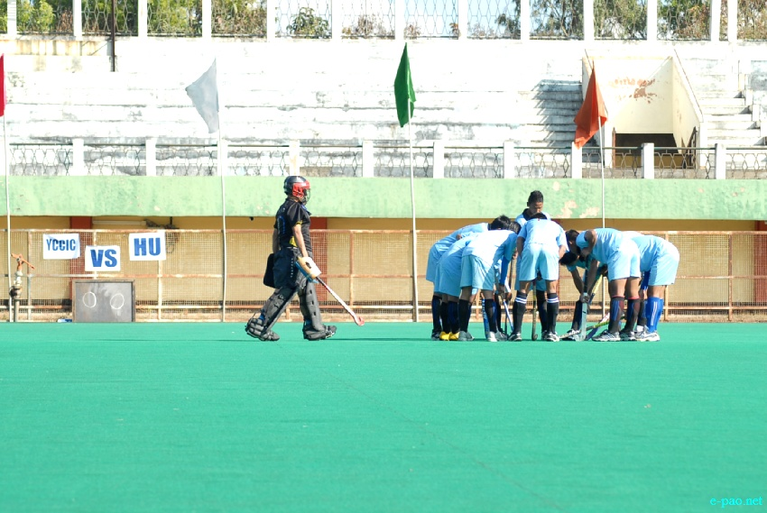 14th Dr Kanti Mukherjee Memorial Invitation Hockey Tournament 2013 at Khuman Lampak  :: 24 January 2013