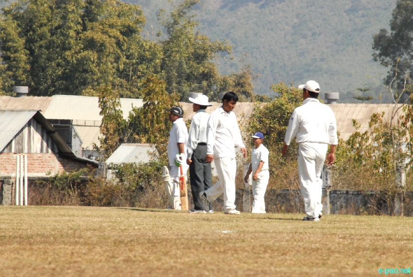 Manipur Veteran Cricket tournament 2012-13 held at Luwangpokpa Cricket ground, Imphal :: February 17 2013