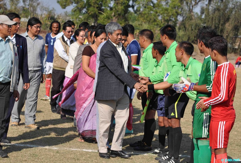 Final Match of 9th DSA Trophy N Bhubon Memorial State Level Invitation Football Tournament 2013 at Kakching :: February 23 2013