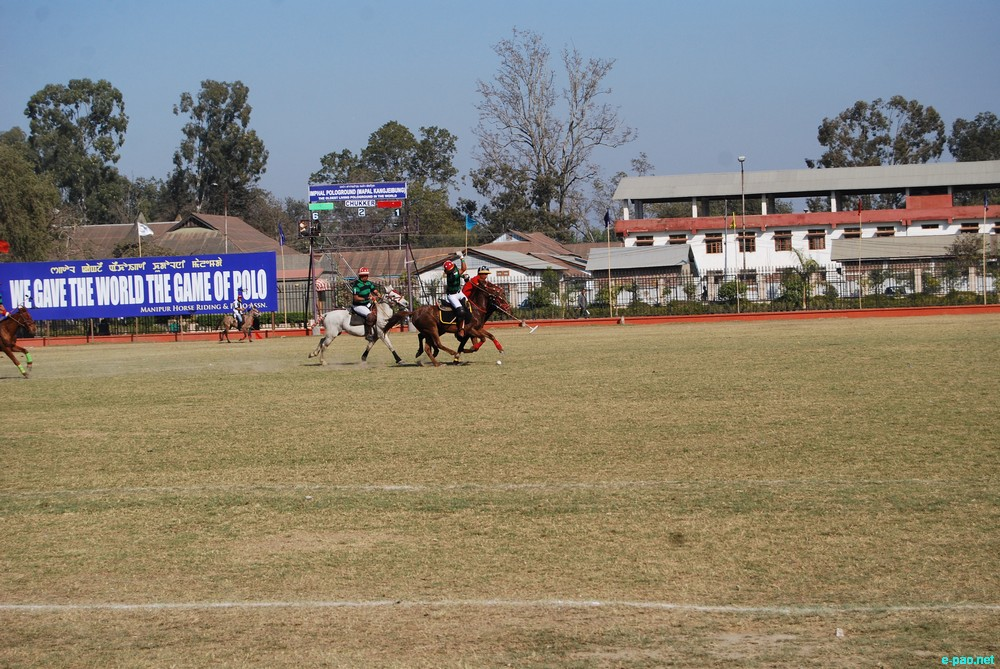 MPSC-B  Vs Imphal Riding Club at 28th N Hazari / Dr N Tombi State Polo Tournament at Mapal Kangjeibung, Imphal :: Feb 15 2013