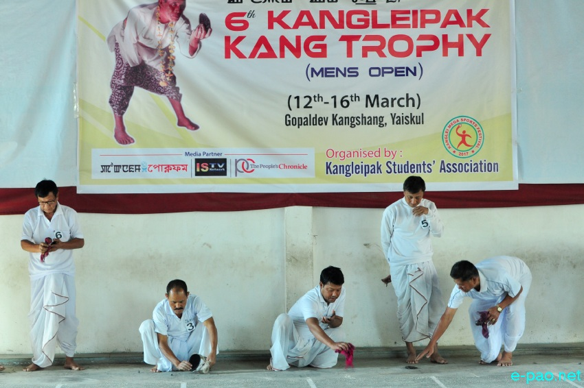 6th Kangleipak Kang Trophy at Gopaldev Kangshang, Yaiskul :: 13th March 2017