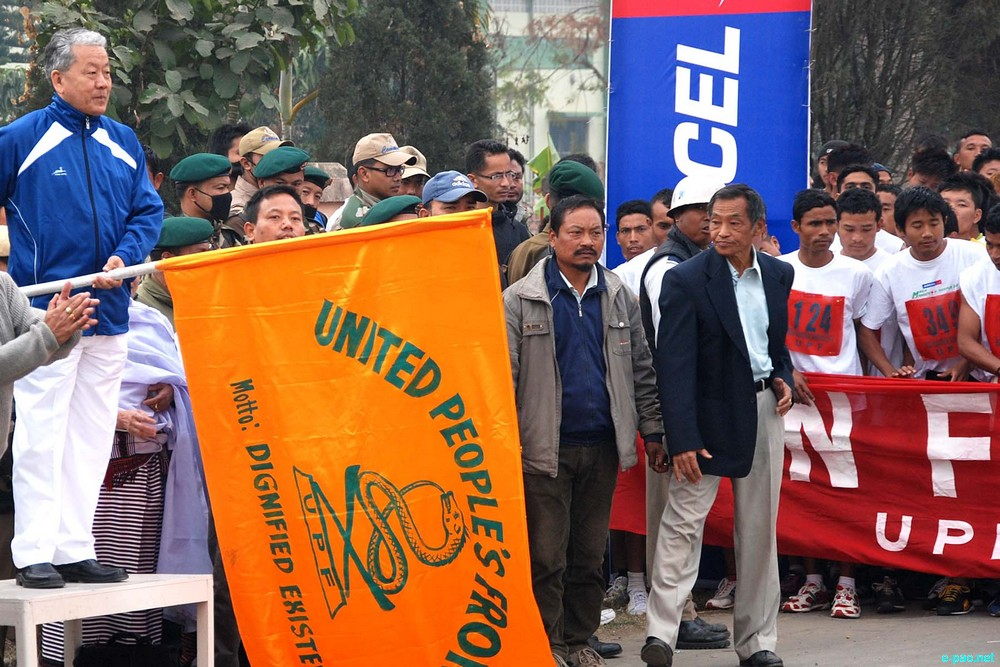 Mega Marathon Manipur 2013 :: 'run for your nation' organised by United People's Front (UPF) :: February 17 2013